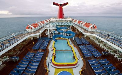 Carnival Elation top deck